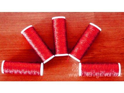 V75039-03 Metalux tmavě červený
