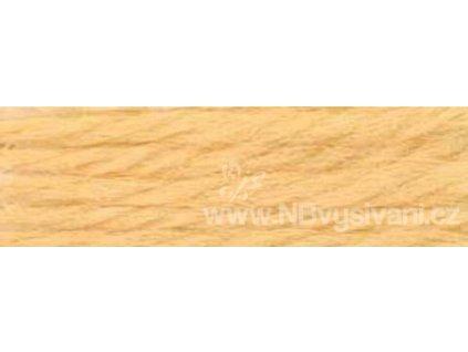 A486 DMC-7503 Vlněná příze 8m (Golden Tan)