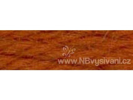 A486 DMC-7700 Vlněná příze 8m (Dk. Golden Red Brown)
