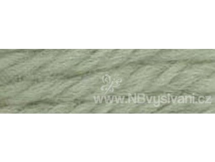 A486 DMC-7704 Vlněná příze 8m (Pale Green Gray)