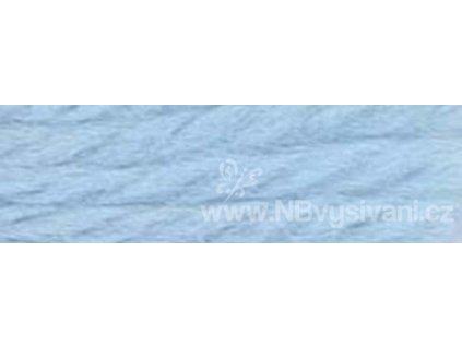 A486 DMC-7800 Vlněná příze 8m (Very Lt. Colonial Blue)