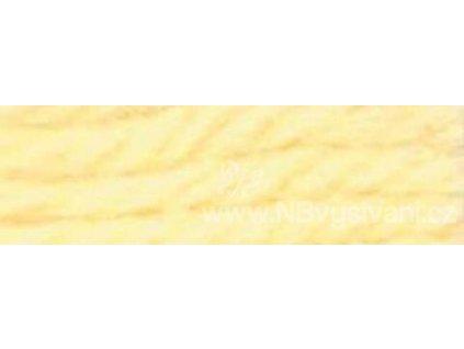 A486 DMC-7905(7579) Vlněná příze 8m (Pale Canary Yellow)