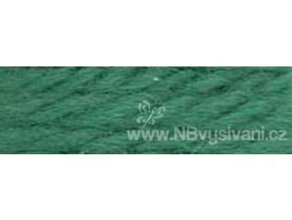 A486 DMC-7909 Vlněná příze 8m (Dk. Blue Green)