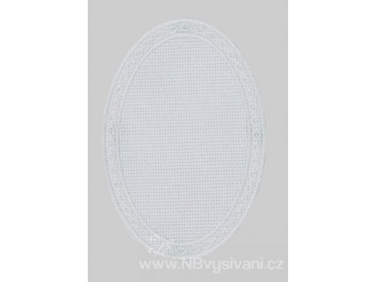 BM-AP00571-003 Ovál k dovyšití - bílý okraj