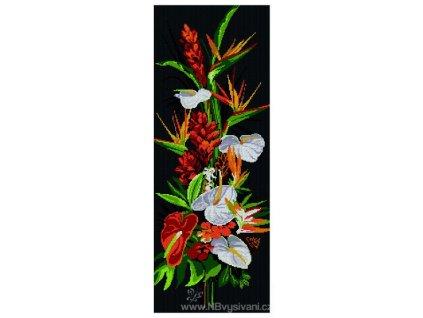 PRI-7553B Exotické květiny