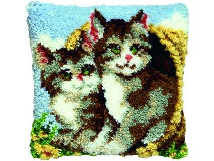 PA013.306 Polštářek s koťátky (tapico)