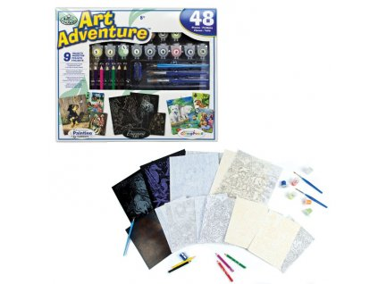 AVS102 Kreativní sada na tvoření (9 projektů)