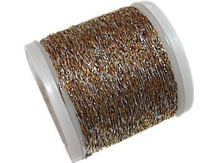 RICO2011.320 Metalická příze N.10 - Gold-Silver (40m)