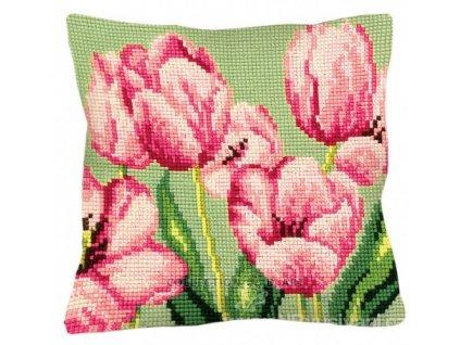ADA5.070 Polštář s tulipány II