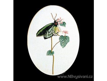 THG-1022A Motýl na květu (Aida)