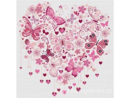 IC11446 Butterfly Heart (předloha)