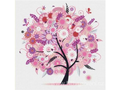 IC12227 Tree with Flowers (předloha)