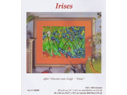 OR1202 Irises (předloha)