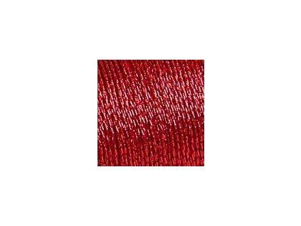 DMC380-D321 Metalická příze Diamant - Christmas Red (35m)