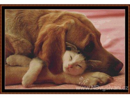 WKD - Bezpečný spánek (Aida 18ct)