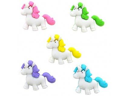 DIU-10410 Ozdobné knoflíky - Fantasy Unicorns