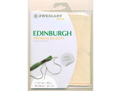 ZW3217PP-222 Edinburgh 35ct Cream (48x68cm)