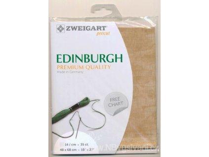 ZW3217PP-3009 Edinburgh 35ct Vintage C. Mocha (marbled)(48x68cm)