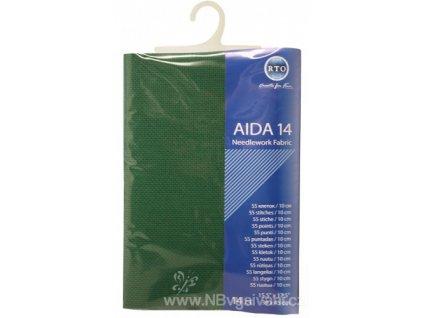 RT-14-601 Aida 14ct Christmas Green (39x45cm)