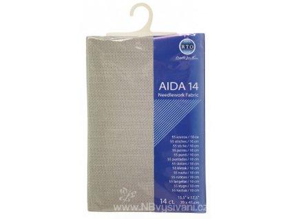 RT-14-713 Aida 14ct Light Grey (39x45cm)