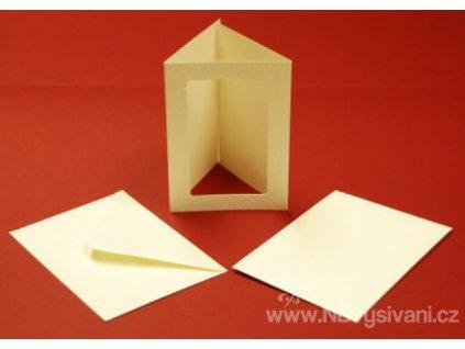 ALL-CUL10829 Papírové trojdílné přání s obálkou (10ks)