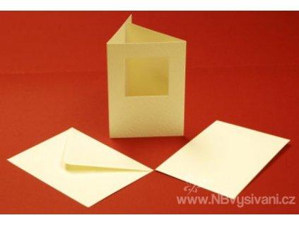 ALL-CUL10784 Papírové trojdílné přání s obálkou (10ks)