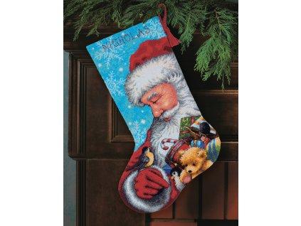 71-09145 Santa and Toys Stocking - punčocha
