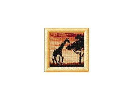 ART-VE2002-40.388 Žirafa za soumraku