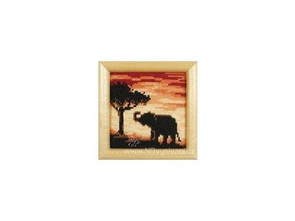 ART-VE2002-40.390 Slon za soumraku