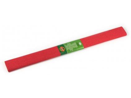AP992054 Krepový papír - tmavě červený (50x200cm)