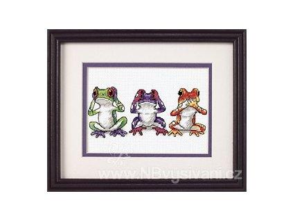 16758 Tree Frog Trio - Trojice žab