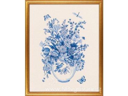 ROS12-646 Kytice v modrém