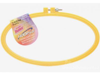 N-14401049 Plastový ovál na vyšívání (11x23cm)