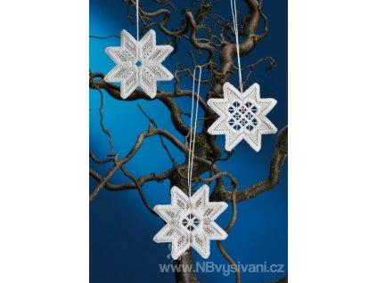 PER01-3646 Vánoční ozdoby Hardanger
