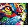 ART-MINI16130008 Malování podle čísel - Kočka (17x13cm)