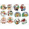 IC23153-1534 Holiday Favorites Ornaments (Aida 14ct)