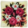 PA013.072 Polštářek s květinami (tapico)