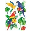 AP10488 Samolepky na zeď - papoušci