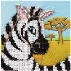 KL8-240 Zebra (korálkové vyšívání)