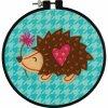 72-74836 Sada pro výrobu filcového obrázku - ježek