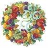 IC5816-1446 Della Robbia Wreath (Aida 14ct)