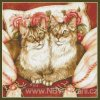 H-07-2609 Feline Sisters (předloha)