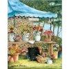 HAED - Betty's Flower Stand (Lugana 25ct)