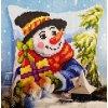 OR9563 Polštář se sněhulákem
