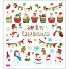 N-SK1504 Samolepky s vánočním motivem
