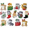 DW-5280 Vánoční ozdoby (13 motivů)