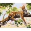 ART-02ART40500122 Malování podle čísel - Leopard (40x50cm)