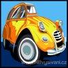 SEG-9223.17 Žluté autíčko