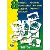 AP991041-G Šablony A5 - Dinosauři (8ks)