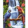 ARP988.0132.115 Vodopád a papoušci